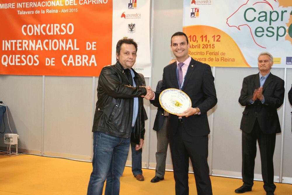 Quesos Aldonza premiado en el II Concurso Internacional de Quesos de Cabra