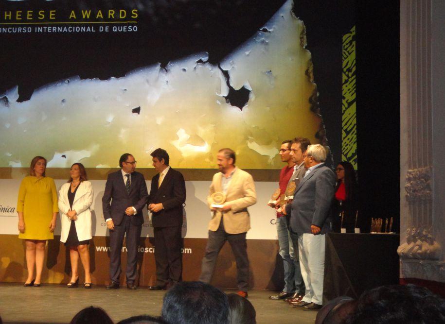La crema de queso de cabra Don Ismael galardonada con el primer premio Cincho de Oro