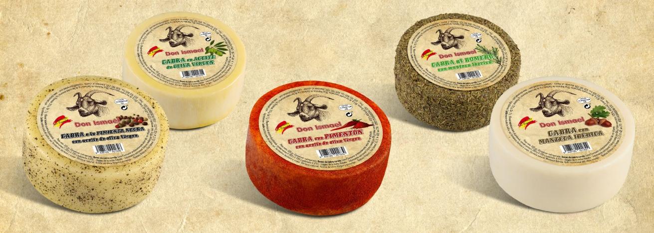 Nueva gama de quesos de cabra (525 gr.)