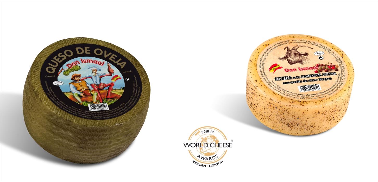World Cheese Awards otorga a Quesos Aldonza y Don Ismael dos premios en las categorias Queso de Oveja y Queso de Cabra